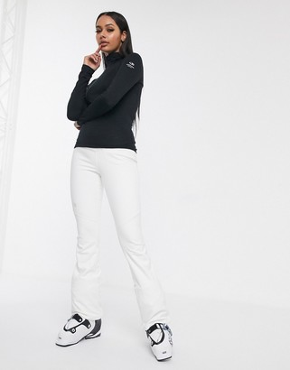 The North Face Snoga pant in white