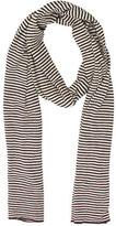 Alice + Olivia Striped Cashmere-Silk Blend Scarf