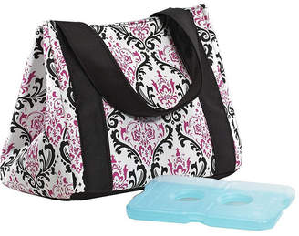 Fit & Fresh Women Venice Insulated Lunch Bag with Ice Pack, Stylish Adult Lunch Bag for Work or School