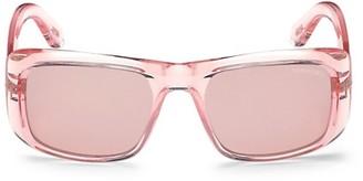 Tom Ford Aristotle 56MM Rectangular Sunglasses