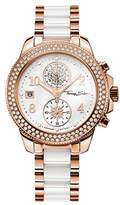 "Thomas Sabo Watches, Women Women's Watch ""GLAM CHRONO"", Stainless steel; Ceramic"