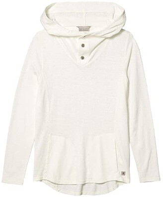 Royal Robbins Flynn Hoodie II (Creme) Women's Clothing