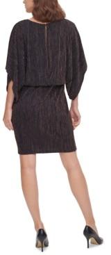 Jessica Howard Metallic Blouson Dress