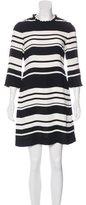 Kate Spade Striped Mini Dress