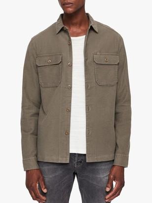 AllSaints Humboldt Shirt, Khaki