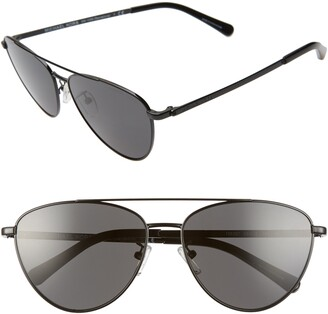 Michael Kors 58mm Pilot Sunglasses