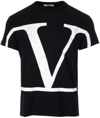 Valentino VLogo Crewneck T-Shirt