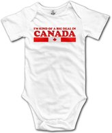 Bsj I'M KIND OF A BIG DEAL IN CANADA Baby Onesie Infant Clothes