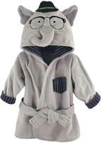 Hudson Baby Smart Elephant Plush Hooded Bath Robe
