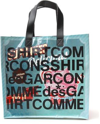 Comme des Garçons Shirt Printed Tote Bag