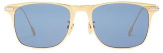 Fred Eyewear - Force 10 D-frame Titanium Sunglasses - Mens - Gold