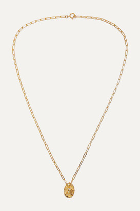 Alighieri The Infinite Offering Gold-plated Necklace