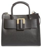 Louise et Cie Meja Leather Satchel - Black