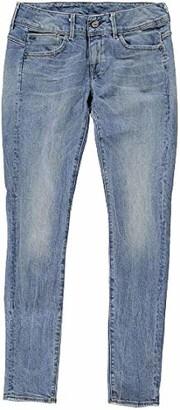 G Star Women's Lynn Midrise Skinny-Fit Jean in Hadron Stretch