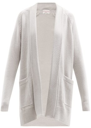 Derek Rose Nina Cashmere Cardigan - Light Grey