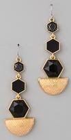 House Of Harlow 1960 Hexagon Drop Earrings