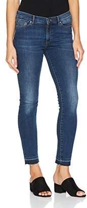 BOSS Women's Orange J10 Atlanta 10200557 01 Straight Jeans,W30
