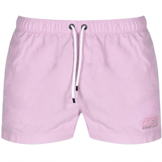 Superdry Sorrento Swim Shorts Lilac