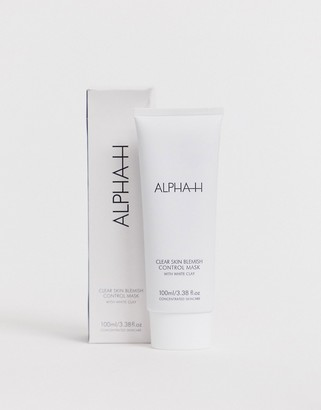Alpha-h Clear Skin Blemish Control Mask with White Clay and Aloe Vera 100ml