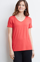 J. Jill Wearever V-Neck Top