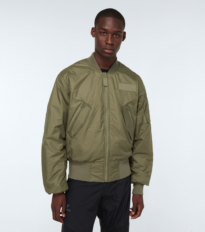 Thumbnail for your product : adidas Parley x bomber jacket