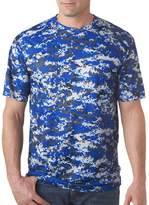 Badger Adult B-Core Digital Camo Tee 4180 -Royal Digita XL