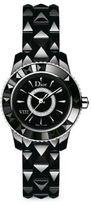 Christian Dior VIII Diamond & Black Ceramic Bracelet Watch