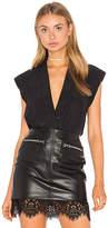 LAMARQUE Cinta Bodysuit in Black