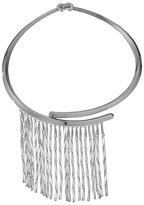 Eddie Borgo Peaked Fringe Collar Necklace