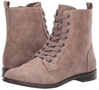 Aerosoles Prism (Grey Fabric) Women's Lace-up Boots
