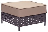 ZUO Pinery Ottoman - Brown And Beige