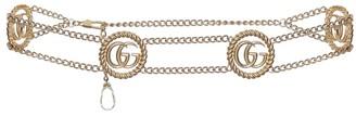 Gucci Double G chain belt