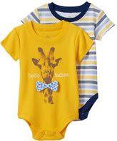 Baby Starters Baby Boy 2-pk. Giraffe Stripe Bodysuits