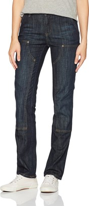 Carhartt Women's Slim Fit Layton Double Front Straight Leg Jean