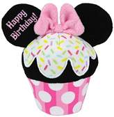 "Kids Preferred Disney Baby 4.5"" Plush HAPPY BIRTHDAY CUPCAKE, MINNIE MOUSE"
