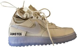 Nike Acg White Cloth Trainers