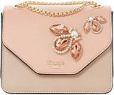 Dune Elady jewel-embellished shoulder bag