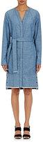 Proenza Schouler WOMEN'S BELTED COTTON CHAMBRAY DRESS