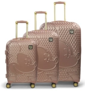 FUL Mickey Mouse 3-Pc. Hardside Spinner Luggage Set