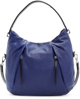 Christopher Kon Zipper Accent Leather Hobo