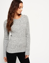 Superdry Croyde Twist Cable Crew Jumper