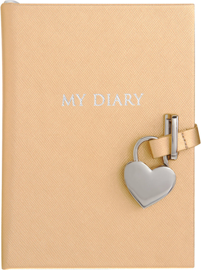 Barneys New York Heart Lock Diary