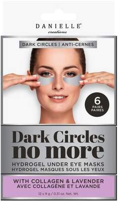 Danielle 6-Pair Dark Circles No More - Hydrogel Under Eye Masks Set