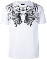 Les Hommes geometric print T-shirt - men - Cotton - S