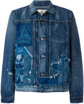 Levi's Made & Crafted destroyed denim jacket