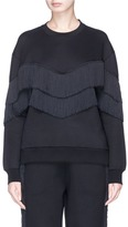 Stella McCartney Fringe trim sweatshirt