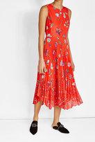 Markus Lupfer Printed Crepe Dress
