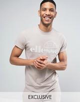 Ellesse T-Shirt With Dipped Hem