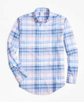 Brooks Brothers Non-Iron BrooksCool® Regent Fit Plaid Sport Shirt