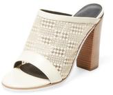 Tibi Nora Mesh Peep-Toe Sandal